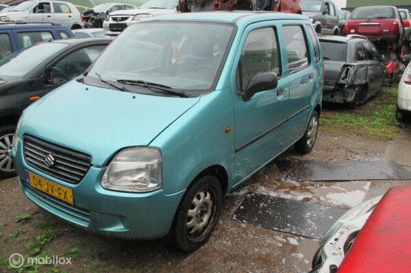 Onderdelen Suzuki Wagon R+ 1.0 GA Basic 2002