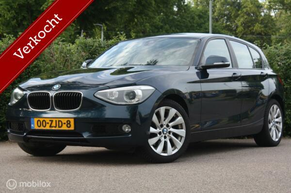 BMW 1-serie 120d AUT Upgrade Ed leer/navi | 2 eig dealeroh