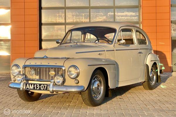 Volvo PV544 B16 1960 Topstaat Kattenrug