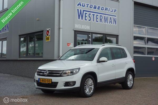 Volkswagen Tiguan 1.4 TSI Sport&Style Navi Cruise Lmv Trekhaak etc.