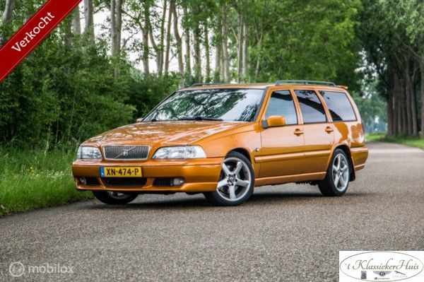 Volvo V70 2.3 R saffron VERKOCHT