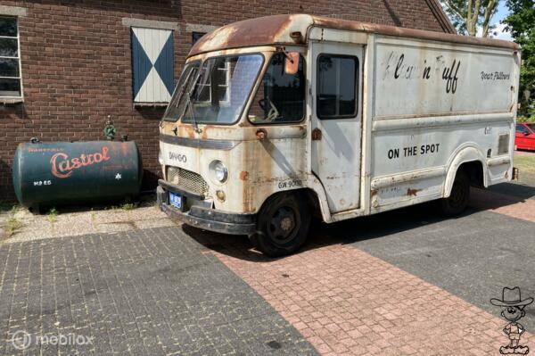 Dodge Divco dividend step van, delivery van, milk truck, ice cream