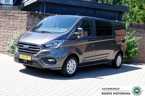 Ford Transit Custom 300 2.0 170PK Automaat DC L2H1 Limited Vol Opties.
