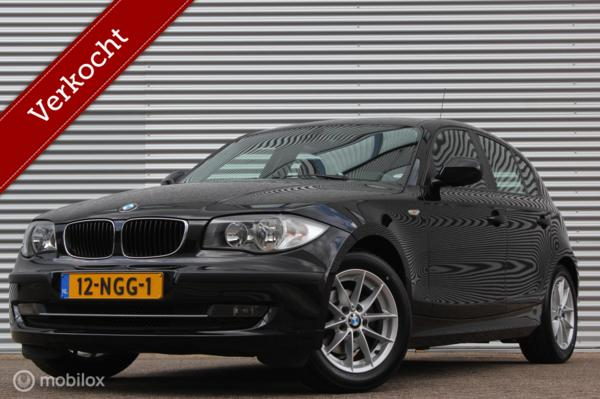 BMW 1-serie 116i Business Line /CLIMATE/CRUISE/MULTIF.STUUR/AUX/NIEUWSTAAT!