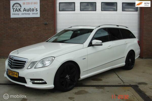 Mercedes-Benz E-klasse Estate 250 CDI Edition Sport/Wit/aut/AMG/Leer/Navi/full options/mooie auto