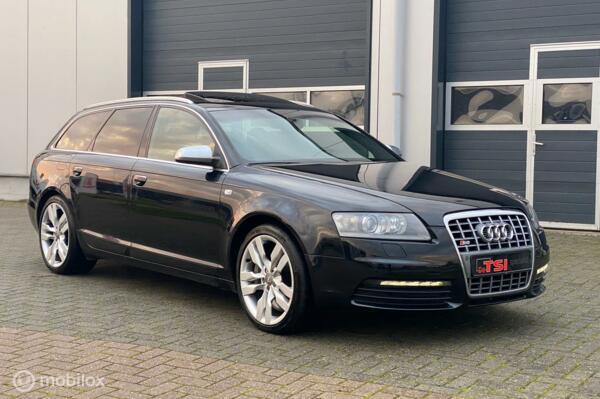 Audi A6 Avant 5.2 FSI S6 zwart TOP STAAT!!