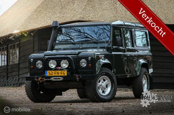 VERKOCHT Land Rover Defender  2.5 110 TD5