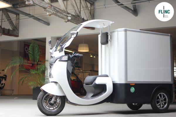 Flinc Tuktuk RAP: ideaal voor  de bezorgdiensten