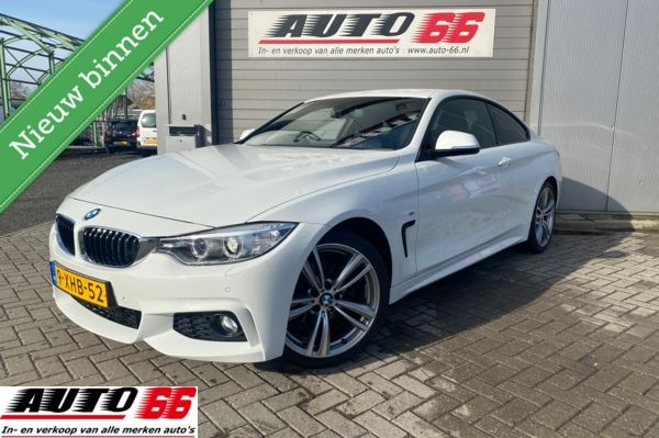 BMW 4-serie Coupé 420d M3 pakket High Executive Stuur rechts DAB