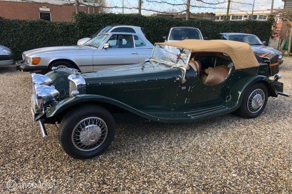 Jaguar SS100 replica Cabriolet