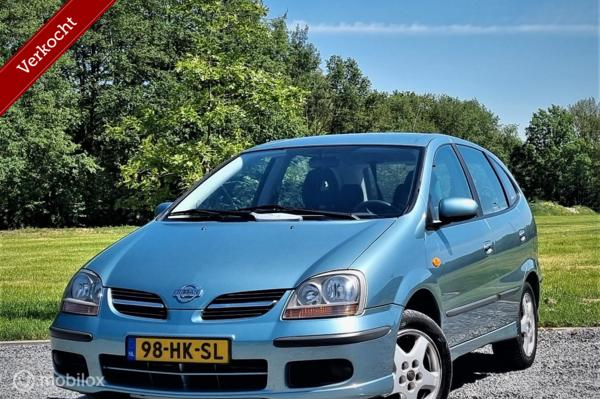 Nissan Almera Tino 1.8 Ambience, Airco, Nwe apk, dealer ond.