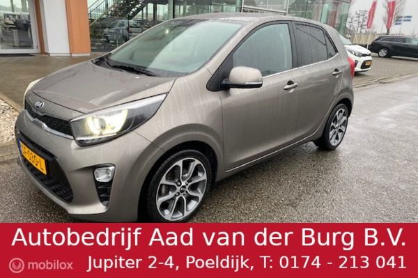 Kia Picanto 1.0 CVVT Design Edition / Navi / Camera / velgen / Leer Look