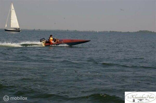 Wolfrat raceboot werfgebouwd, laatste van de serie!