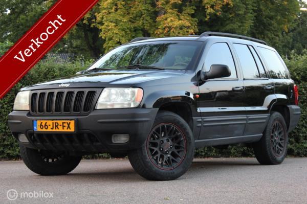 Jeep Grand Cherokee 4.7i V8 AUT youngtimer   Bluetooth radio