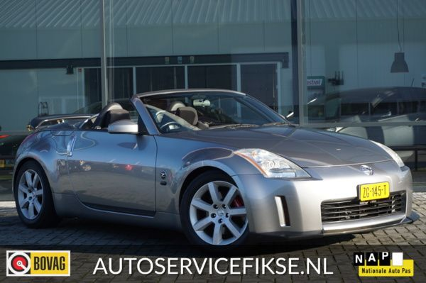 Nissan 350Z 3.5 V6 FAIRLADY CABRIO AUTOMAAT MET AIRCO 280 PK