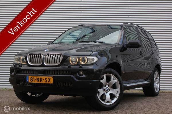 BMW X5 3.0i High Executive /XENON/LED/LEDER/CARPLAY/STOELVERW./MEMORYSEATS!
