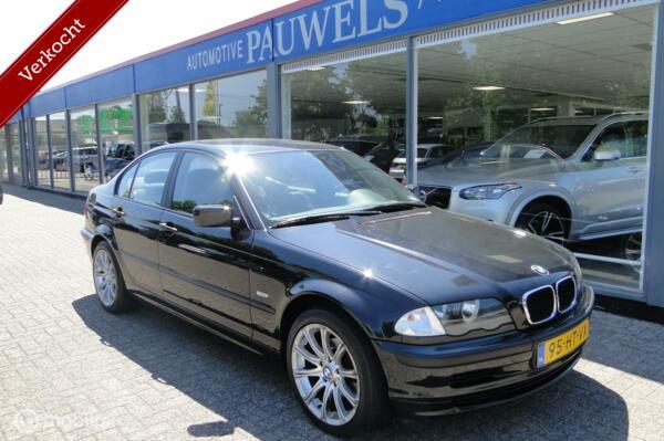 BMW 3-serie 316i, benzine, handgeschakeld, 1999, 238591 km.