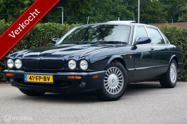 Goed onderhouden Jaguar XJ Sovereign 4.0 V8 schuifdak/Alpine