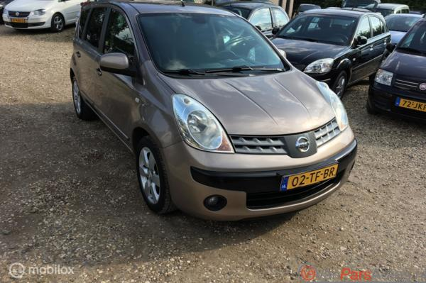 Nissan Note 1.6 First Note,Trekhaak,Clima