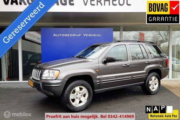 Jeep Grand Cherokee 2.7 CRD Laredo Limited Edition Automaat 4x4
