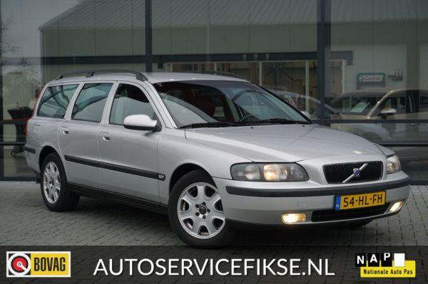 Volvo V70 2.4 LEER AIRCO CRUISE TREKHAAK NIEUWE APK