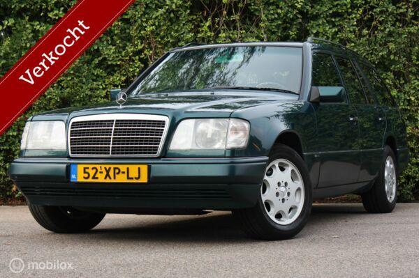Sublieme Mercedes W124 E280 kombi AUT 1995 airco / historie
