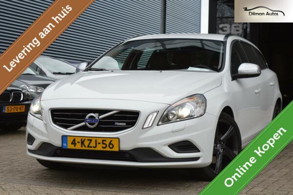 Volvo V60 2.0 D4 R-Design|Automaat|Trekhaak|Nap|Dealer OH!!