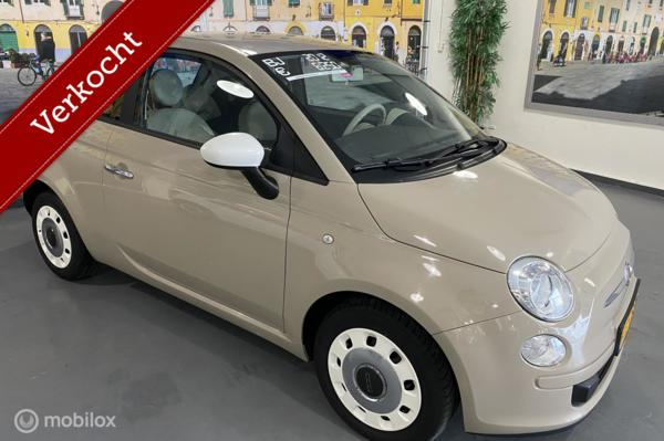 Fiat 500 0.9 TwinAir Turbo Color Therapy*NL NAP✅*CAPPUCCINO