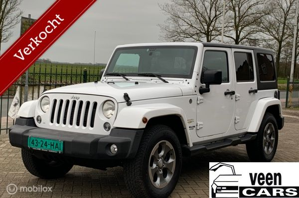 Jeep Wrangler Unlimited 2.8 CRD Sahara (Excl, BPM)