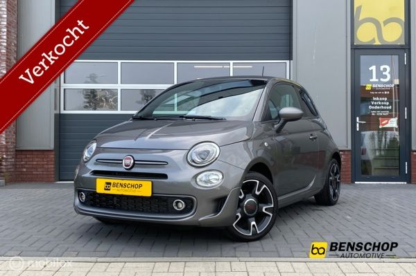 Fiat 500S 1.2 Sport Car Play  Beats PDC Airco Cruise LM 