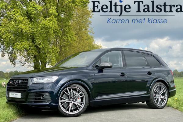 Audi SQ7 Grijs kenteken Exclusive leder, B&O, keramisch, vol!