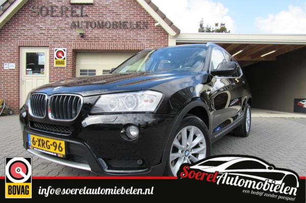 BMW X3 xDrive20d High Executive, clima, leer, navi, p.sens,