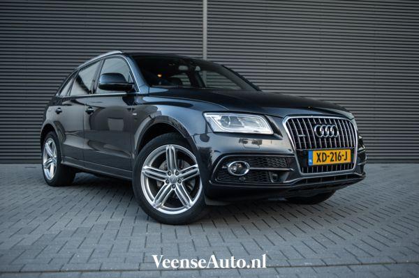 Nieuwstaat Audi Q5 2.0 TDI quattro S-Line Dealeronderhouden