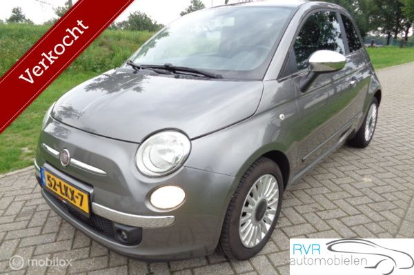Fiat 500 1.2i AUTOMAAT/ LEER / AIRCO / PDC