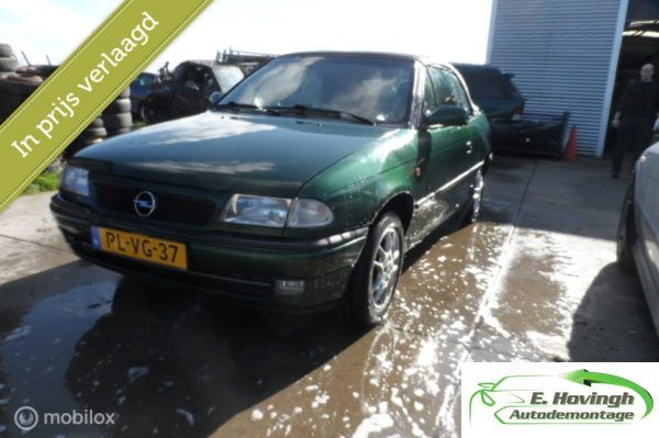 Opel Astra Cabriolet 1.6i Comfort AUTOMAAT!