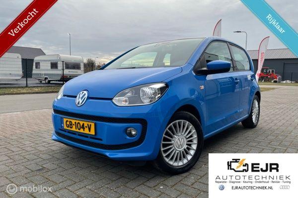 Volkswagen Up! 1.0 high up! BMT PANODAK/CRUISE/LEER/NAVI/CF+AFS