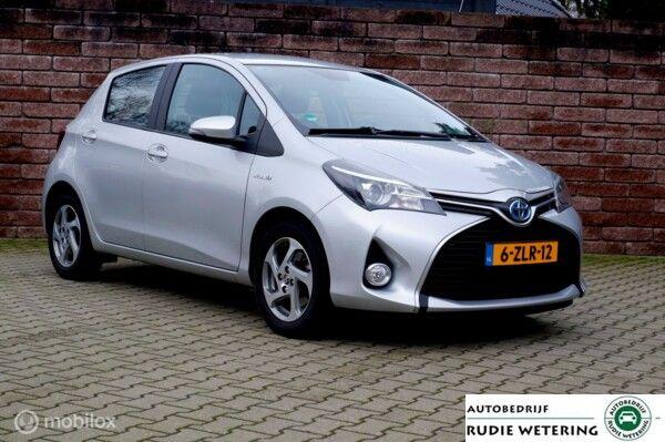 Toyota Yaris 1.5 Hybrid Automaat Aspiration nav/cam/ecc/trekhaak/lmv15