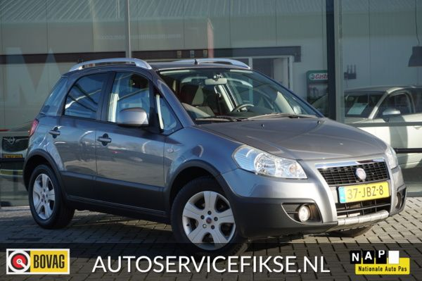Fiat Sedici 1.6-16V Emotion SX4 AUTOMAAT CLIMA CRUISE TREKHAAK