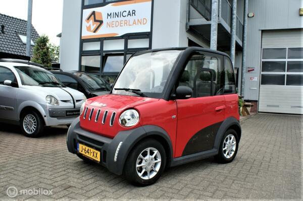 Move City Car 80km/h 1920km 2017 Elektrisch 6 maand garantie