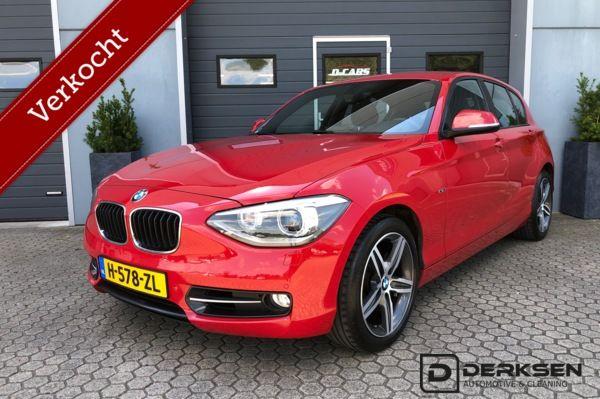 BMW 1-serie 118i Sport 5-deurs LED/Xenon Clima Cruise control F20