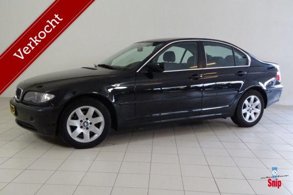 BMW 3-serie 316i Black & Silver