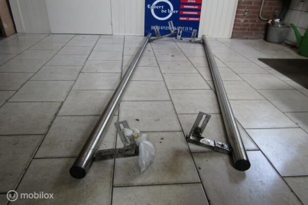 Sidestep sidebars zijbuizen Trafic Primastar Vivaro lengte 2