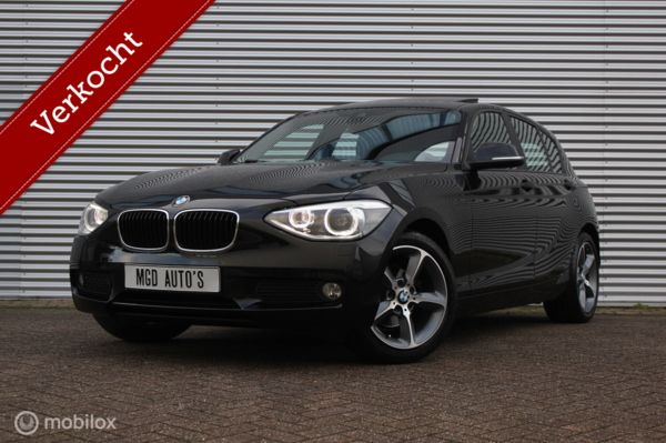 BMW 1-serie 116i EDE Business+ /XENON/LED/SCHUIFDAK/GROOT NAVI/STOELVERW./BLUETOOTH/CRUISE/PDC!