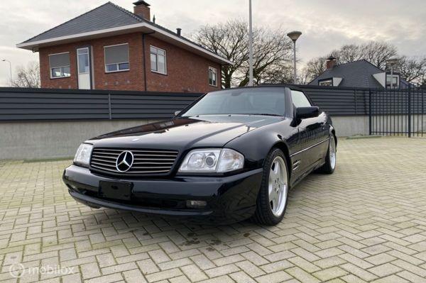 Mercedes SL500 cabrio Black automaat modeljaar 1998