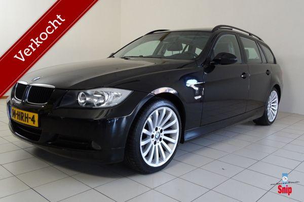 BMW 318i Touring Automaat Clima + Cruise + Leer + Navi + Dak