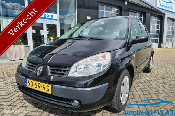 Renault Scenic 1.6-16V Dynamique Comfort # PANO | APK 2-2022 | Trekhaak | Luxe | Cruise | Clima | ISOFIX