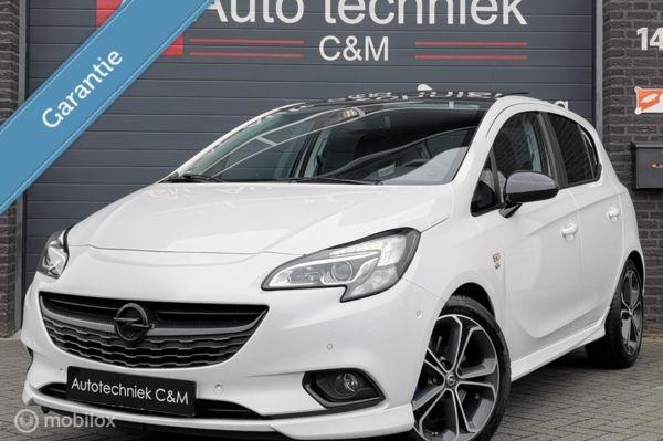 Opel Corsa 1.4 Turbo Sport/OPC/Schaalstoel/Camera/140pk/Pano
