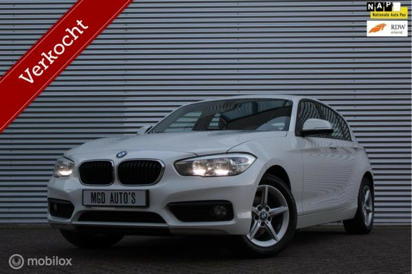 BMW 1-serie 116i Essential /AIRCO/LED/CRUISE/BLUETOOTH/STOELVERW./PDC!
