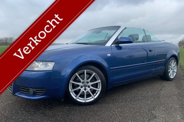 Audi A4 Cabriolet 1.8 Turbo '167DKM' Sportstoelen - Facelift - Nette Auto