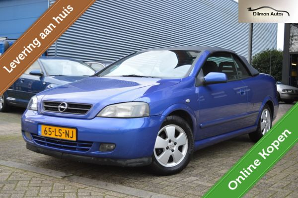 Opel Astra Cabriolet 1.6-16V Airco Nap Goed OH Nette Staat!!